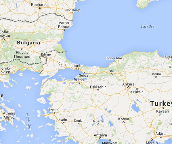 1934 Thrace Pogroms Map The Full Wiki Rodosto Tekirdag