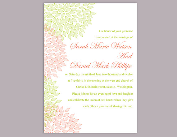 Invitation Template Word Impressive Wedding Invitation Template Download Printable Wedding Invitation .