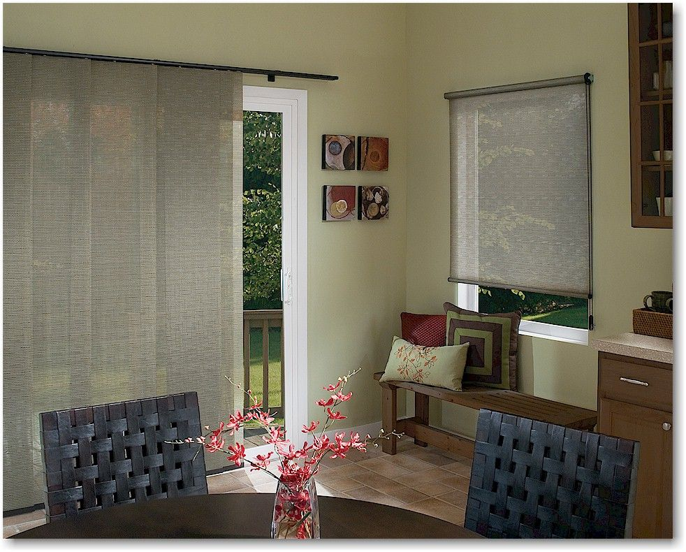 Designer Window Panels hunter douglas skyline gliding window panels harmonize with