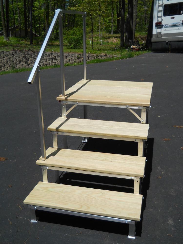 Best Portable Rv Deck With Steps And Railings Ebay Motors Parts Accessories Rv Trailer 400 x 300