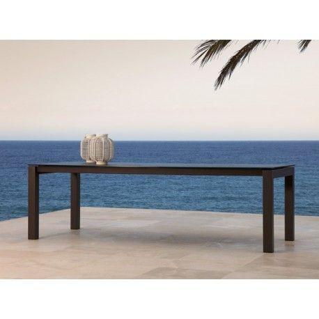 Terrasse Epoxy Céramique Extérieur Jardin Extensible Table Fixe 8P0ywOvmNn