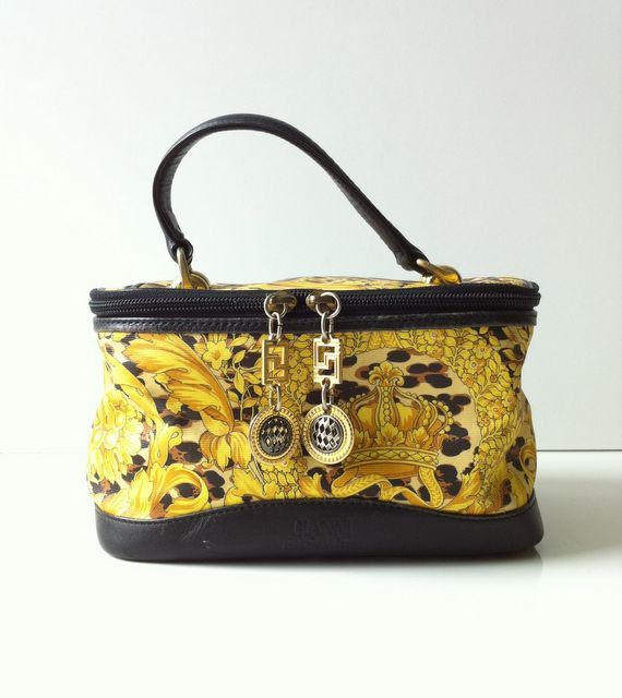 07322fc7 Vintage Gianni Versace Vanity Case Bag by topgens on Etsy, $250.00 ...