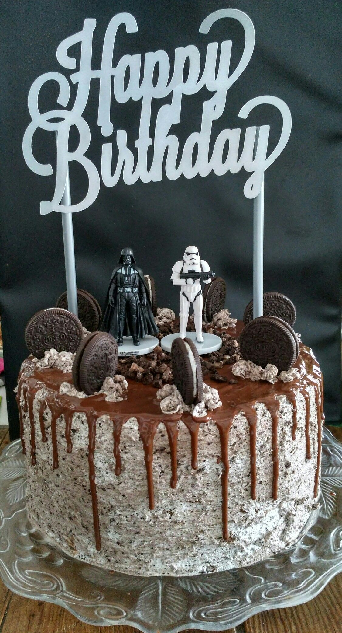 Drip Cake Oreo Star Wars Star Wars Birthday Cake Boy