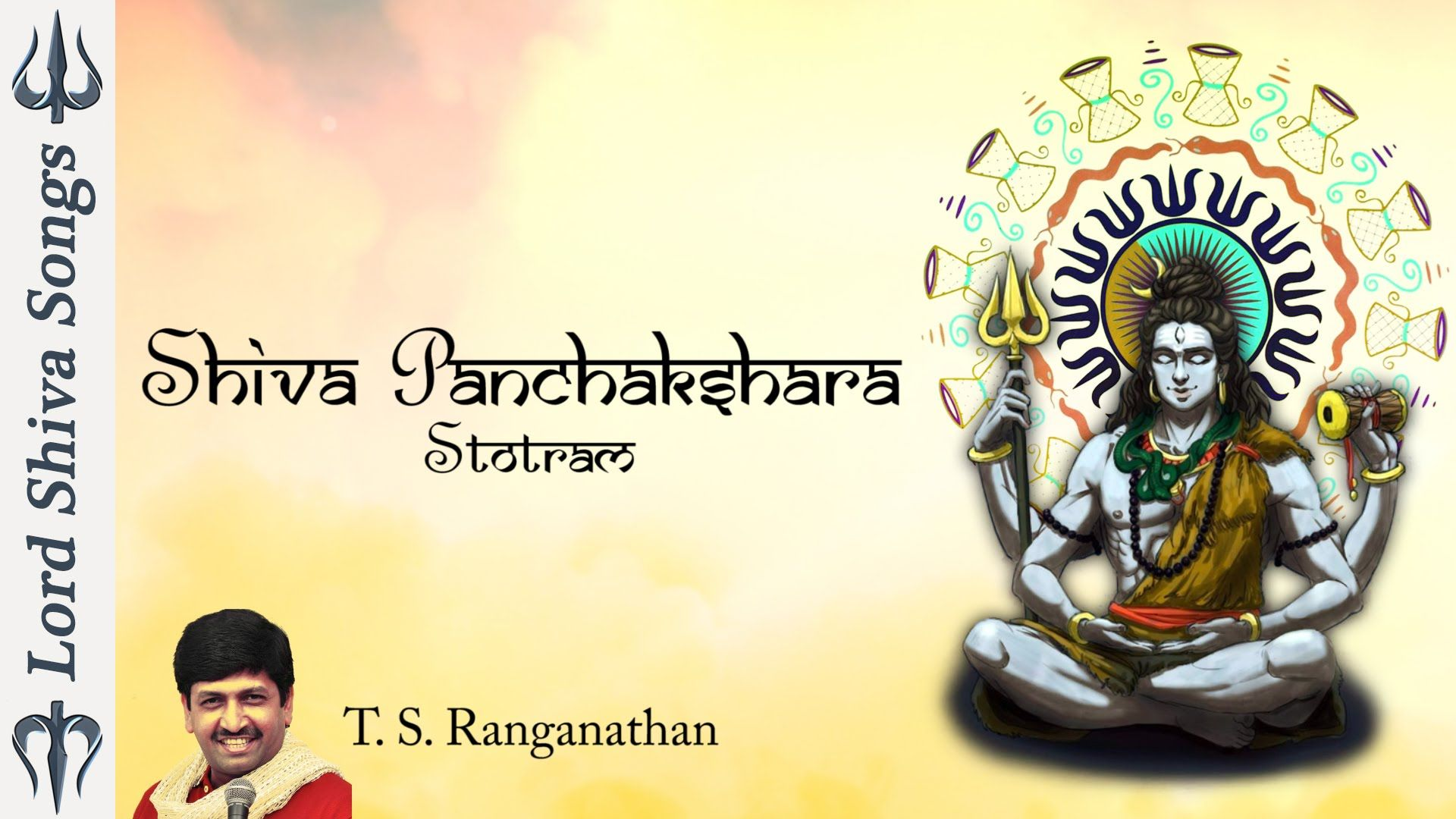 Shiva Panchakshara Stotram With Lyrics || Shiva Stotram