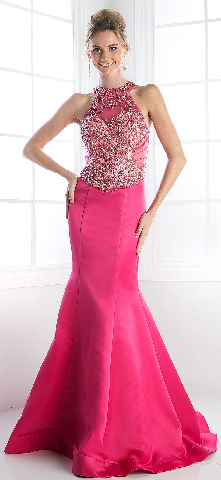 Prom Dresses Evening Dresses by CINDERELLA<BR>addC239<BR>Satin ...