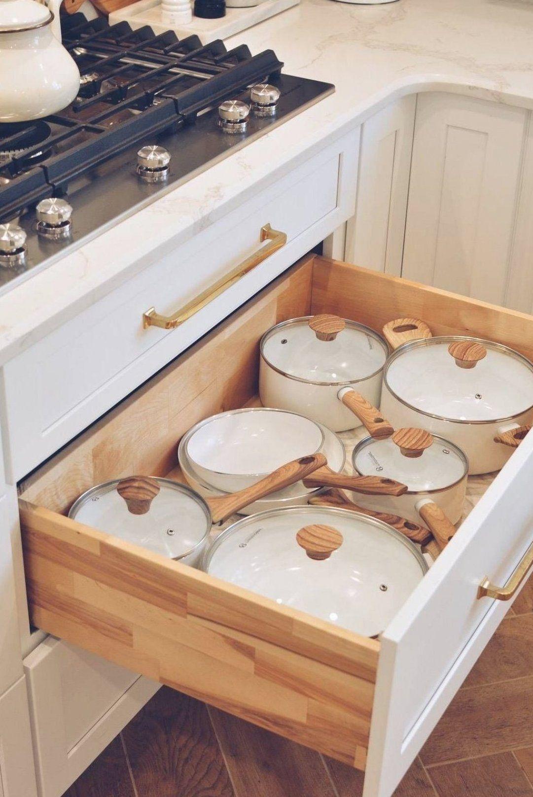 Pin By Abraham Ibazeta On Kitchen Hacks Videos Cooking In 2020 Kitchen Design Decor Cottage Kitchen Cabinets Kitchen Organization
