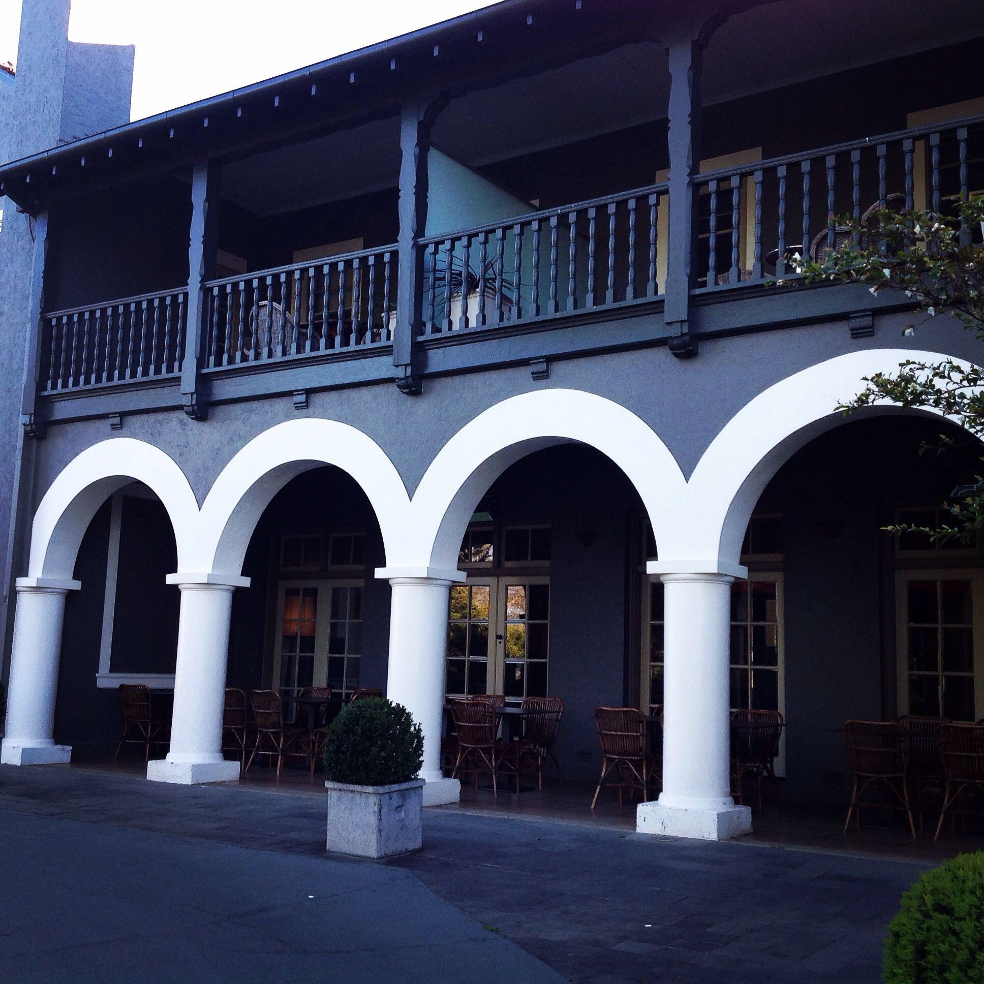 The Iconic Arches At Peppers Mineral Springs Hotel Beautiful
