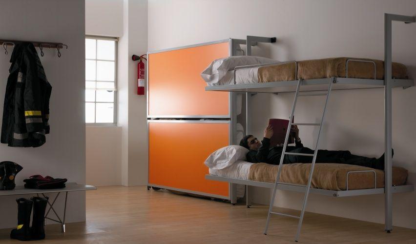 Video Studio Desk Bed Desk And Bed Combination Foldaway Deskbed