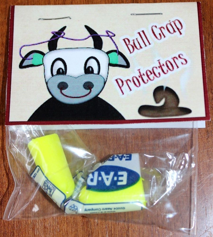 Bull Crap Protectors, Great For Birthdays or A Fun Gag Gift, Novelty ...