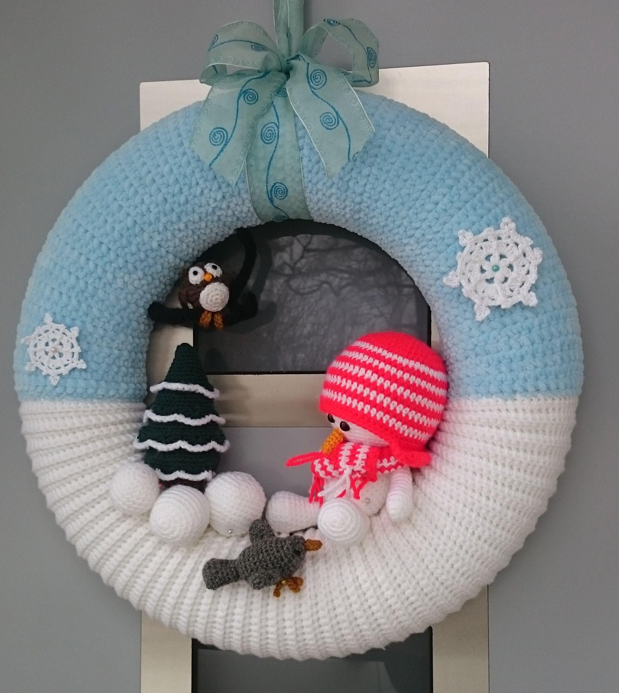 Photo of Snowman wreath