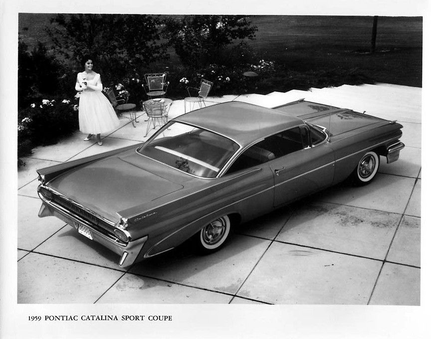 Sport Coupe 1959 Pontiac Catalina Press Release Photo Pontiac Catalina Sports Coupe Pontiac