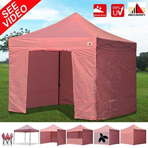 Best C&ing Tents | AbcCanopy 10x10 EZ Pop up Canopy Tent Instant Shelter Commercial Portable Market  sc 1 st  Pinterest & Best Camping Tents | AbcCanopy 10x10 EZ Pop up Canopy Tent Instant ...