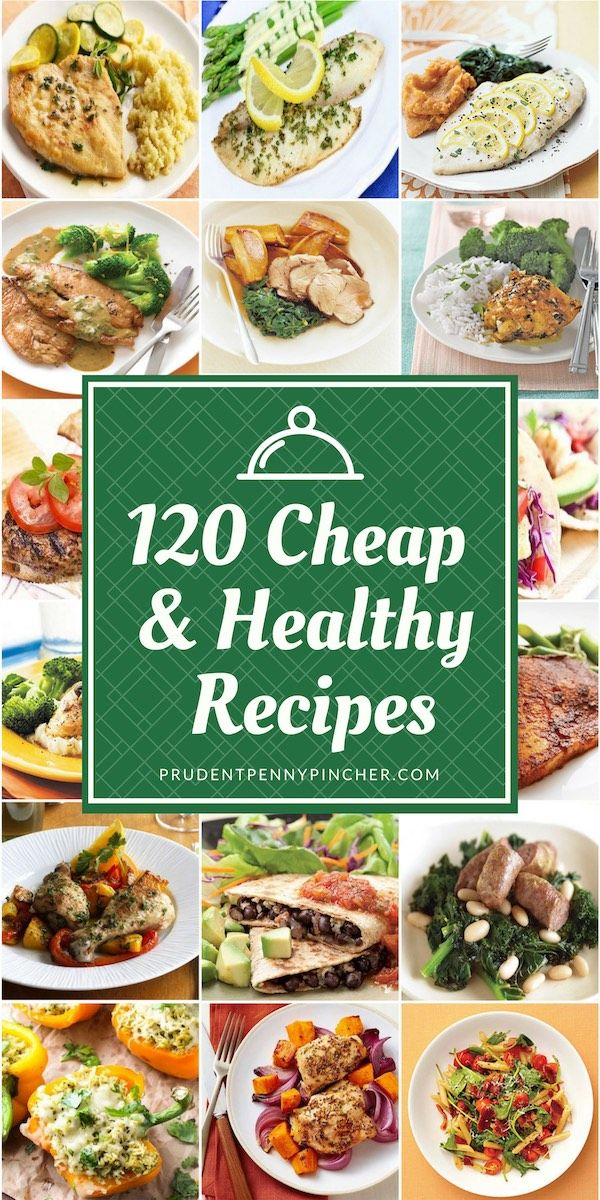 120 Cheap and Healthy Dinner Recipes images