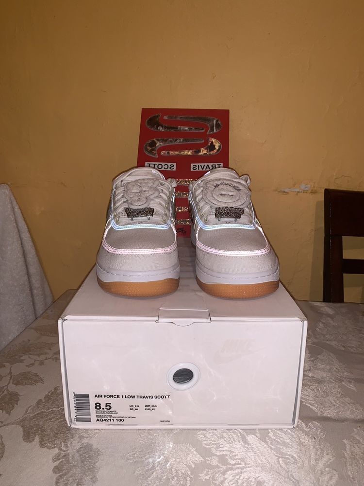 Air Force 1 Low Travis Scott Af100 White Size 8 5 Fashion