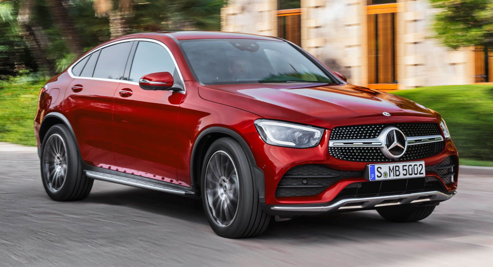 Premium Suv Buyers Rejoice 2020 Mercedes Benz Glc Glc Coupe Hit