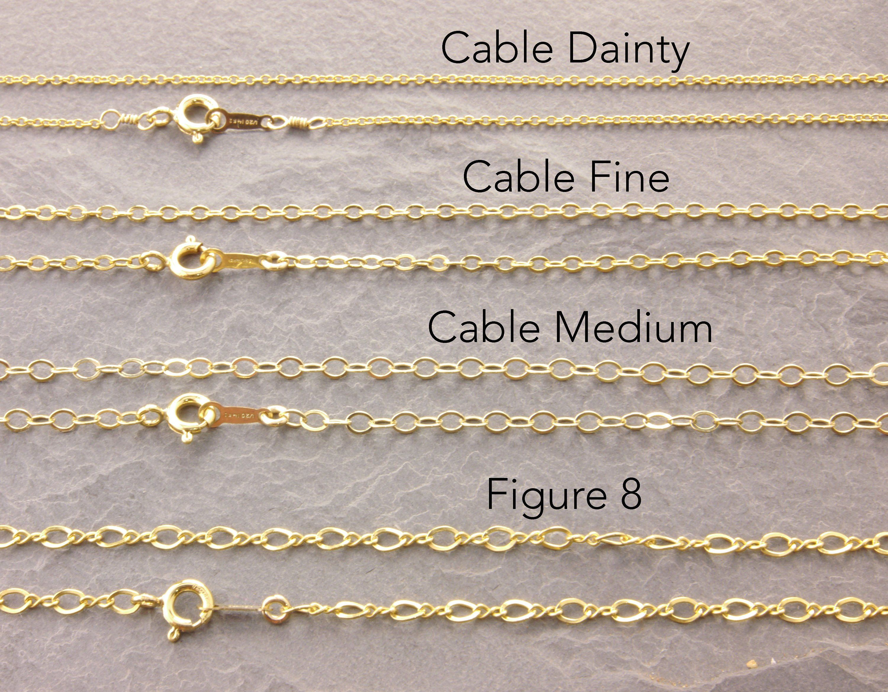 Gold Simple Chain Gold Chain Necklace Cable Chain Gold Chain Gold Necklace Plain Necklace Gold Chain Necklace Dainty Chain Necklace Gold Necklace Layered
