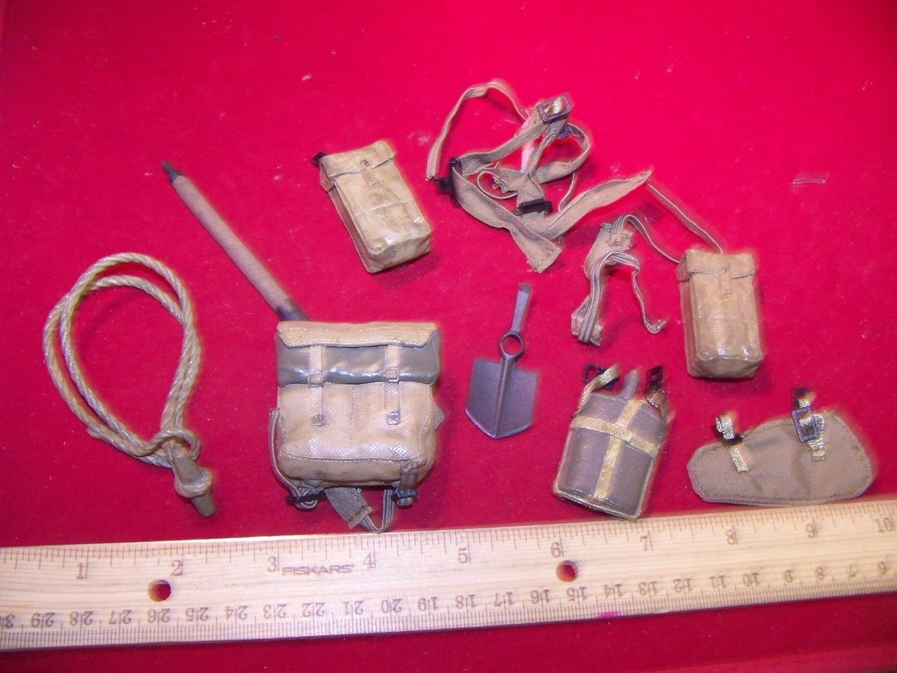 1/6 Scale WWII British Belt, Backpack, Harness, & more