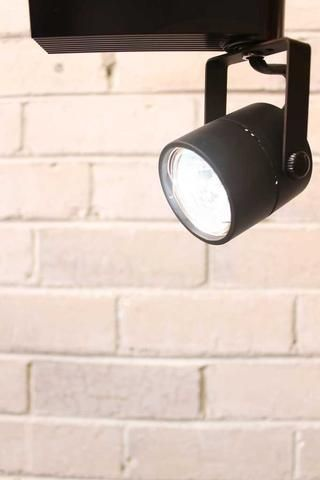 track lighting takes mr16 fitting and can use either a mr16 led or