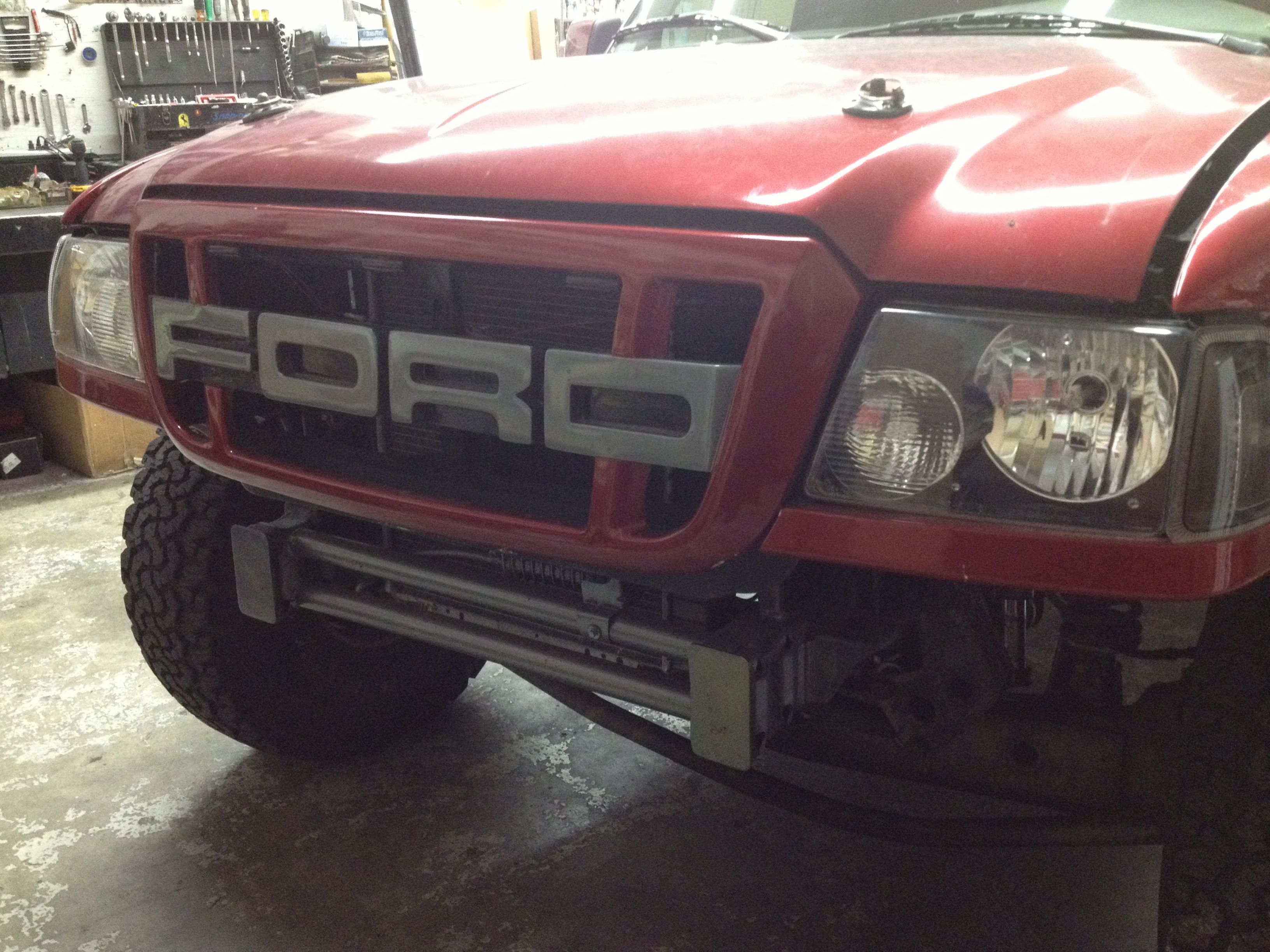Custom Ford Ranger Grill Want This Grill With Images Ford
