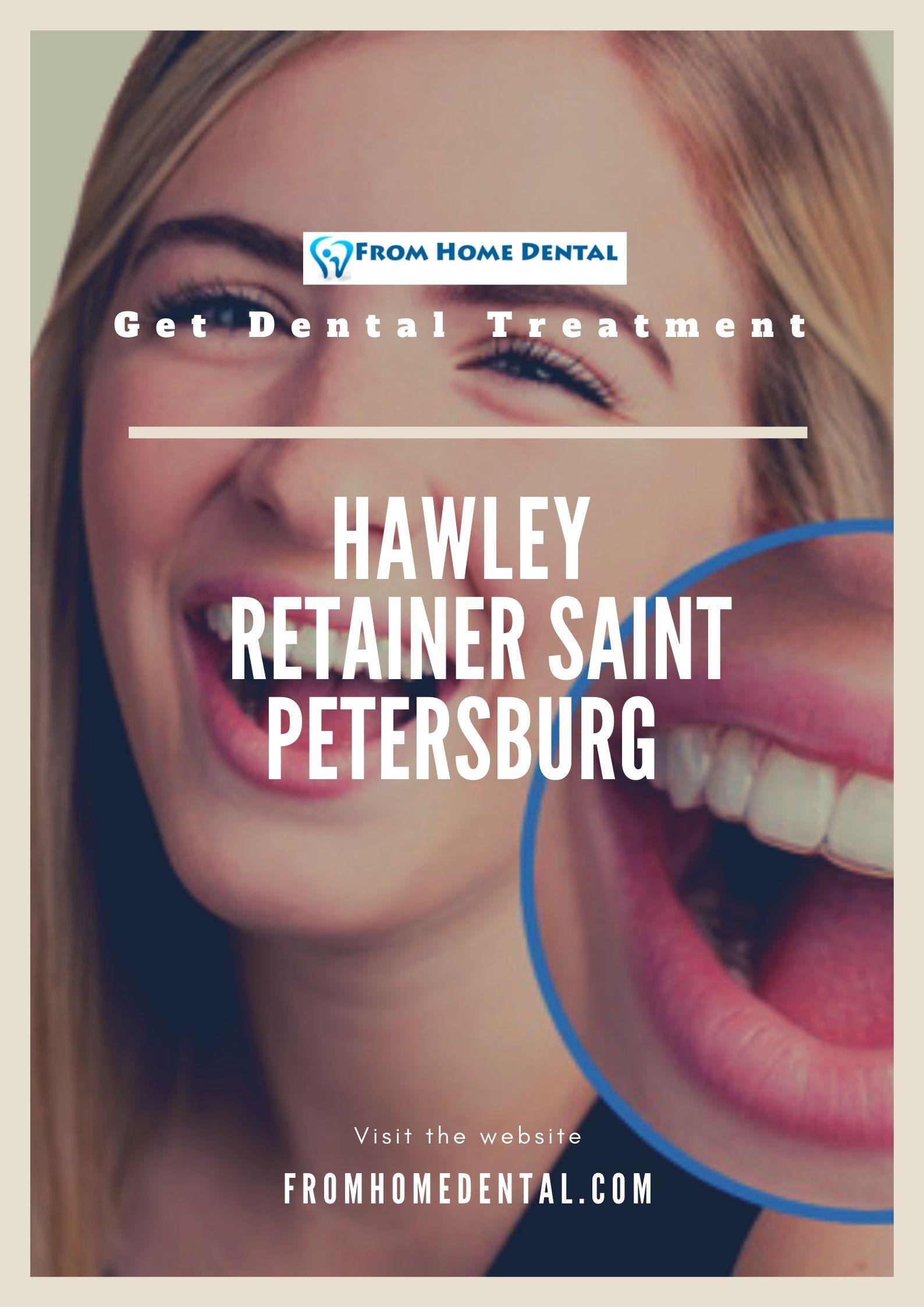 Hawley Retainer Saint Petersburg From Home Dental
