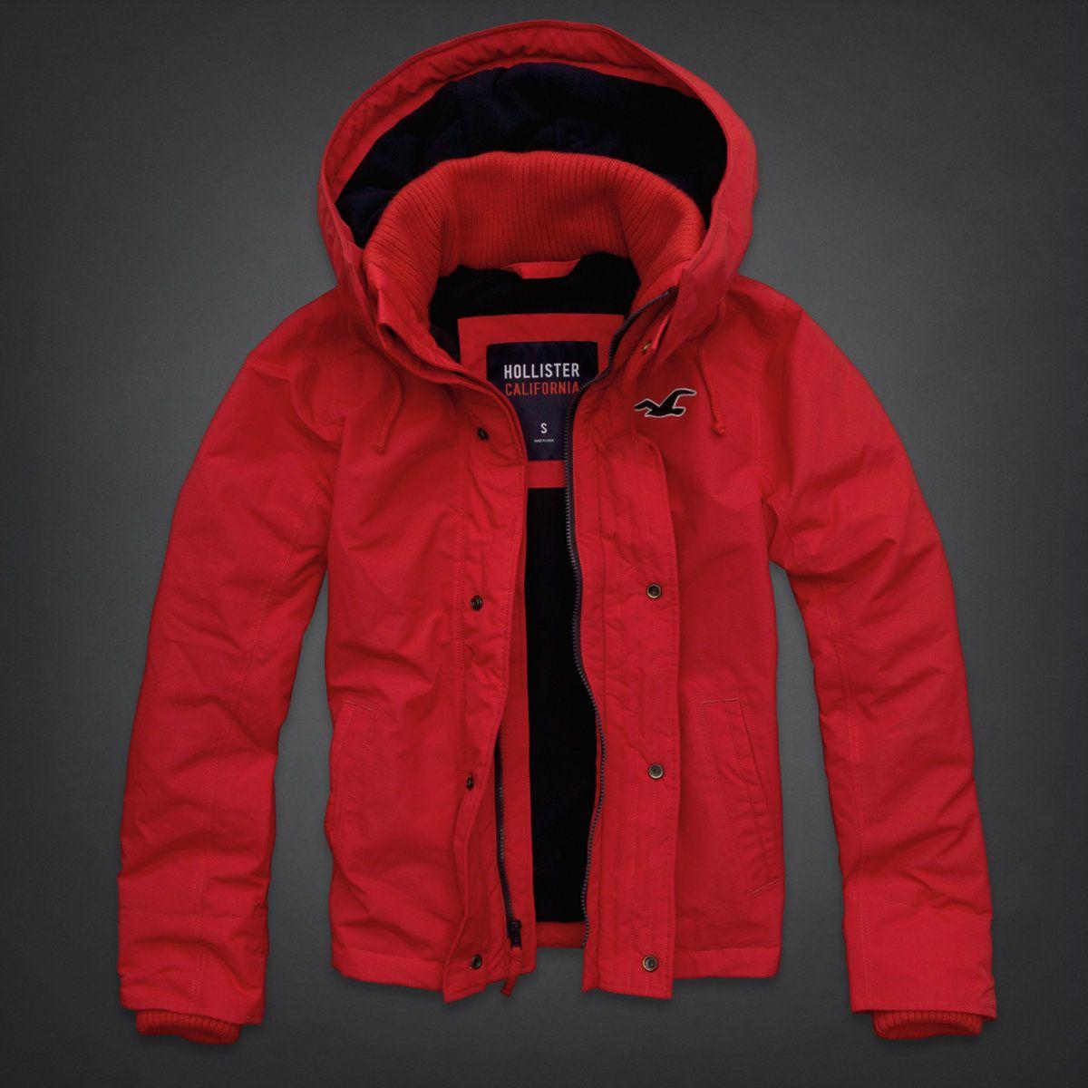hollister jackets mens