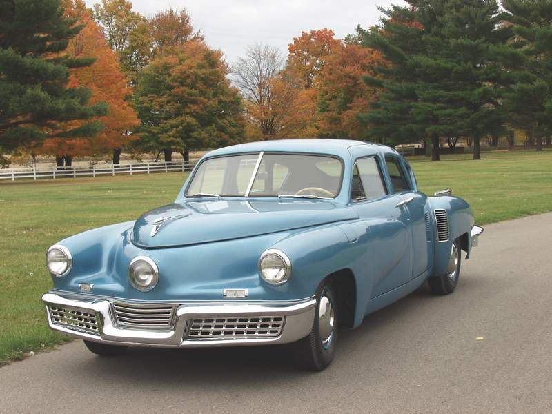 A GREAT American classic, the Tucker Torpedo! I\'d love one, but don ...