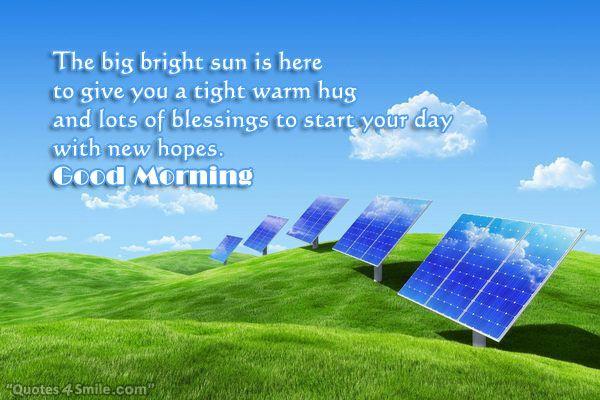 Warm Tight Hug To Start Your Day Solar Solar Panels Green Energy Solar