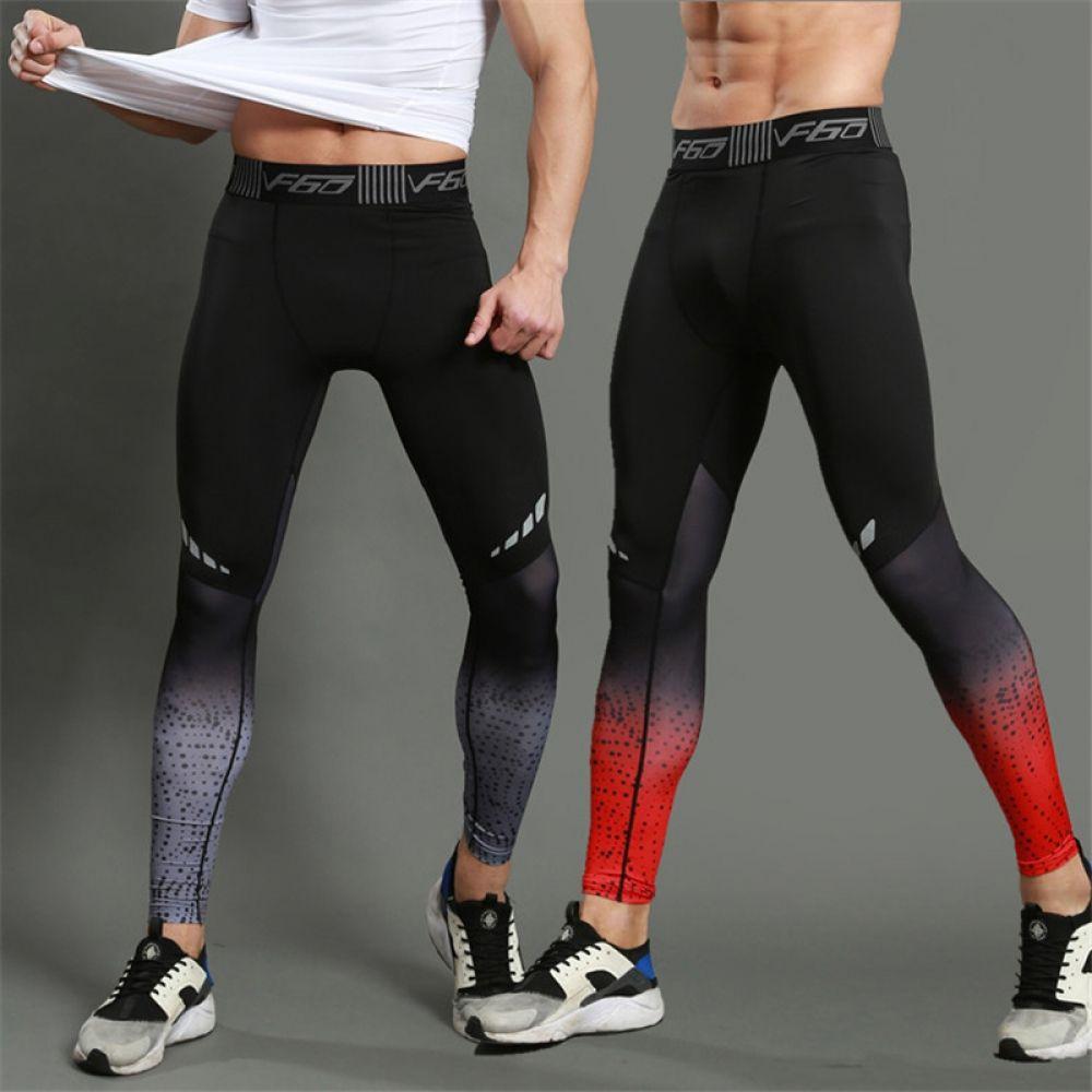 Leggings Deportivos Para Hombre Con Estampado Degradado Ropa Deportiva Para Hombre Leggins Hombre Ropa Deportiva