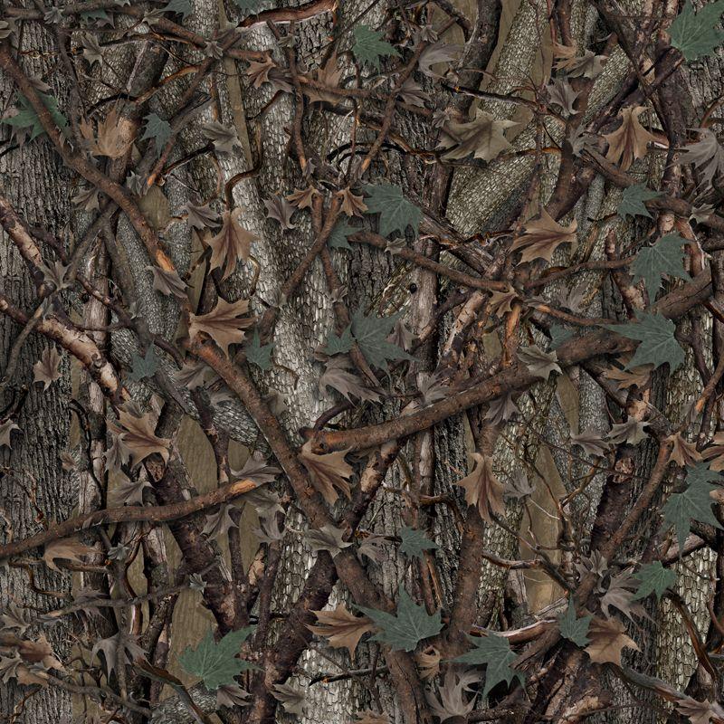 Wild Wood Camouflage Lower Rocker Panel Graphics Kit 12 Inch X 12 Foot Per Side Vinyl Graphics Rocker Graphic