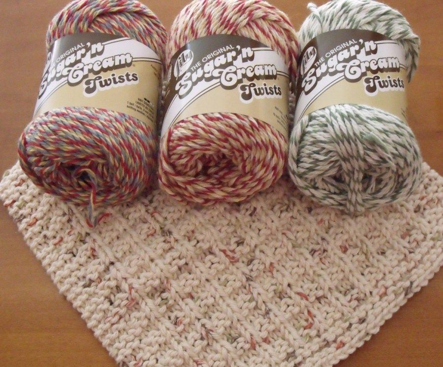I Use The Peaches Cream And Sugar Cream Yarns For All Of My