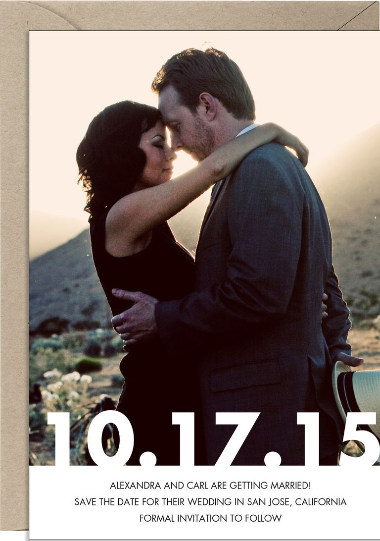 12 Save The Dates Youll Actually Want To And Can Buy Right Now