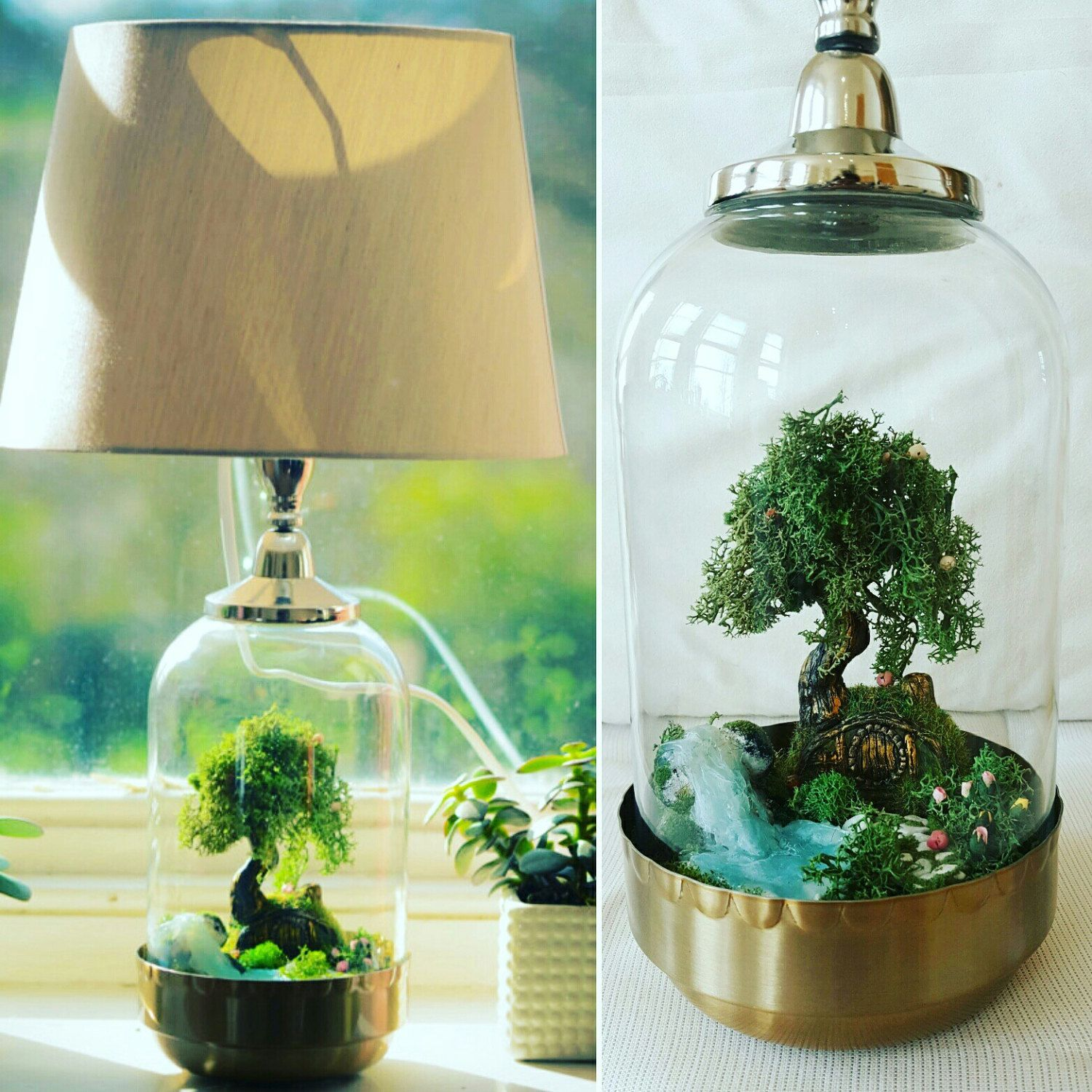 Augurkenpot Lamp Terralamp In 2019 Diy Terrarium Lamp Ideas Terrarium Diy