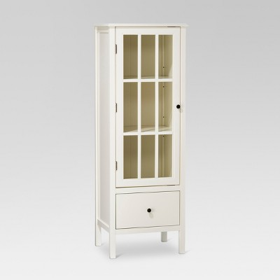 Windham 56 Narrow Library Cabinet With Door Drawer Shell
