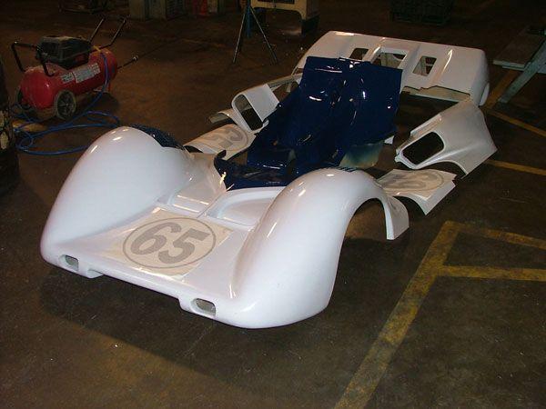 9: 2E fiberglass body panels