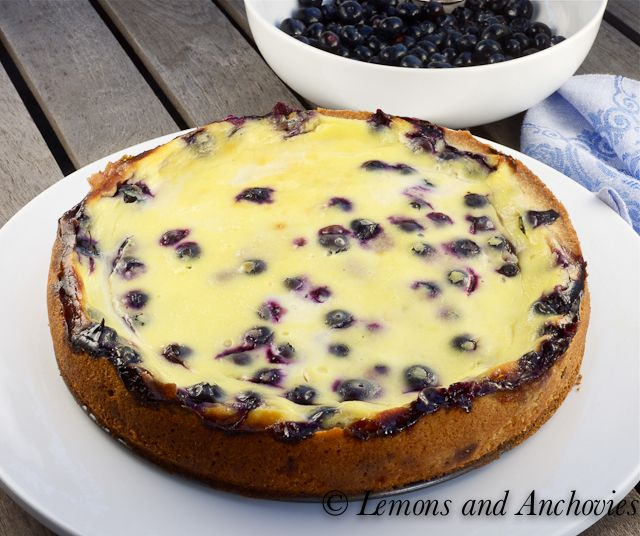 Blueberry Sour Cream Cake Lemons And Anchovies Dessert Cake Recipes Sour Cream Cake No Cook Desserts