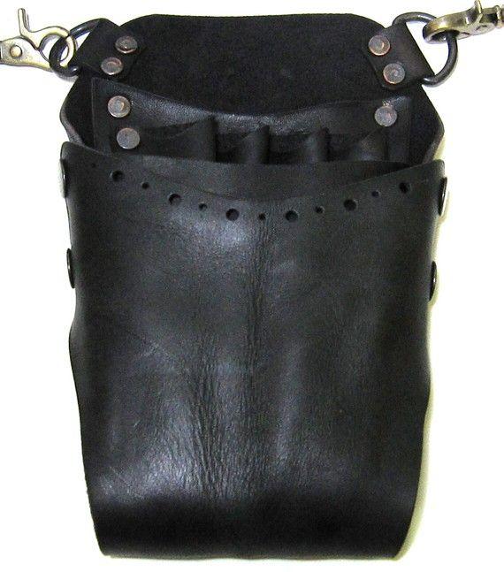 20% OFF SALE Scissors Case/Handmade Leather Helmet par whatthefunk