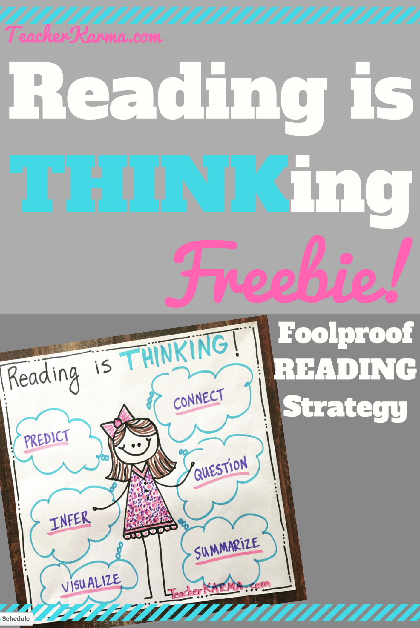 Yes Reading Really Is Thinking Free Resource