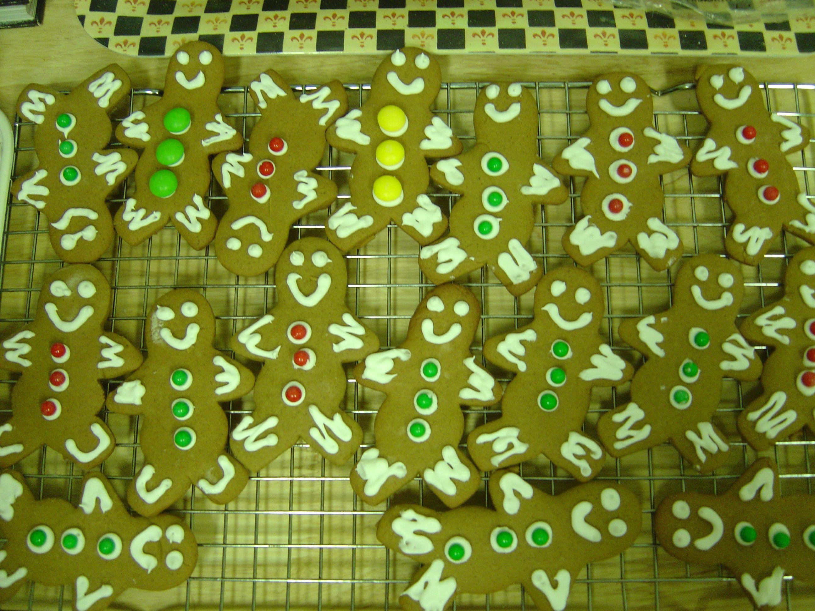 Mr. Gingie cookies