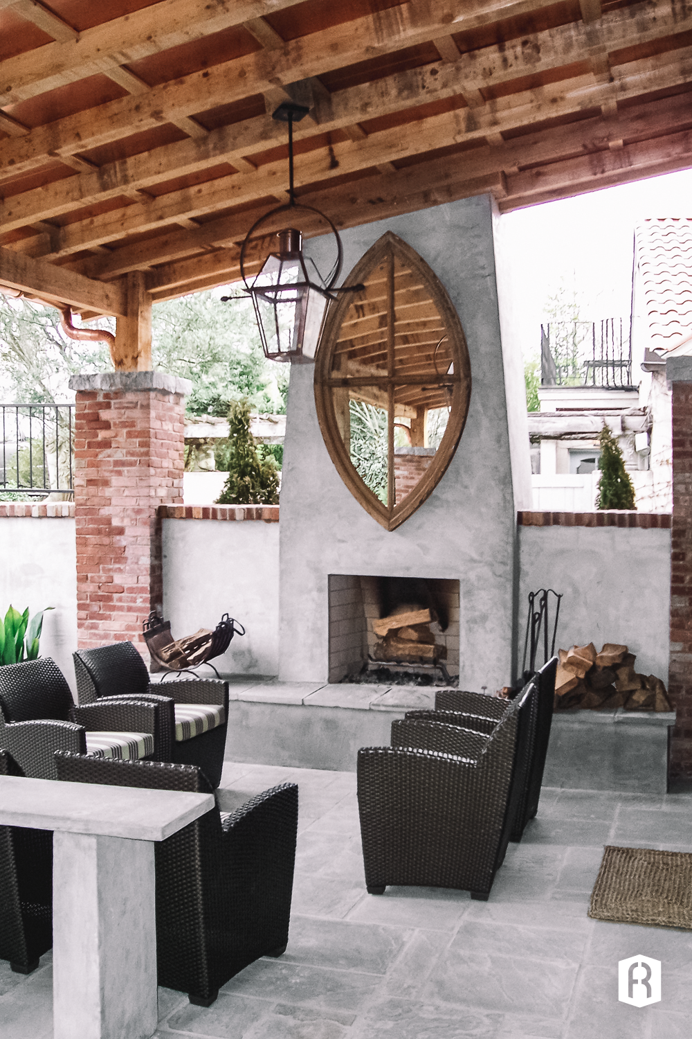 An Outdoor Fireplace Is Like Adding Extra Room To Your Home