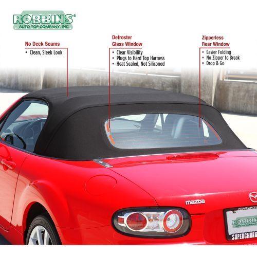 Robbins Miata Convertible Top Factory Style For Na Nb 90 05 Miata Mazda Mx5 Miata Convertible Top