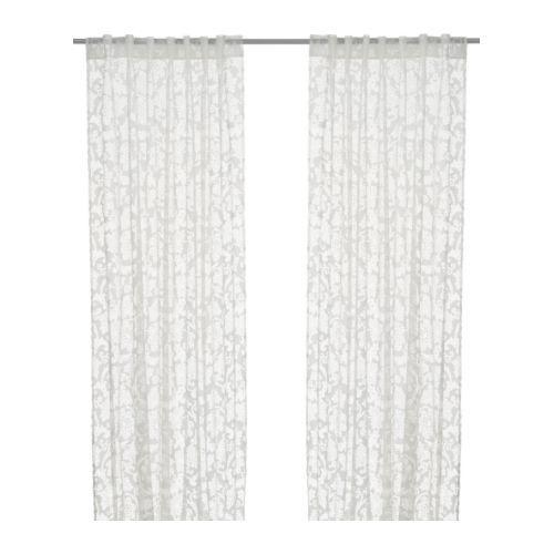 ALVINE RUND Gardinenstore/Paar IKEA Eine feine, transparente