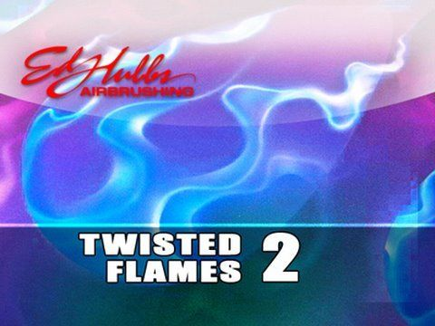 Airbrushing Twisted Flames - [part - 2 of 3] - YouTube