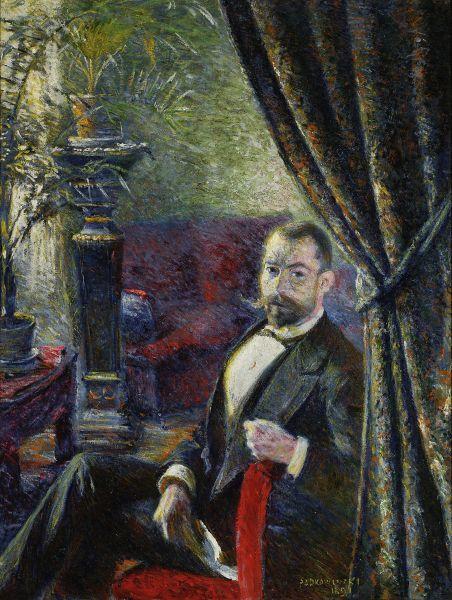 Portret mężczyzny - Władysław Podkowiński