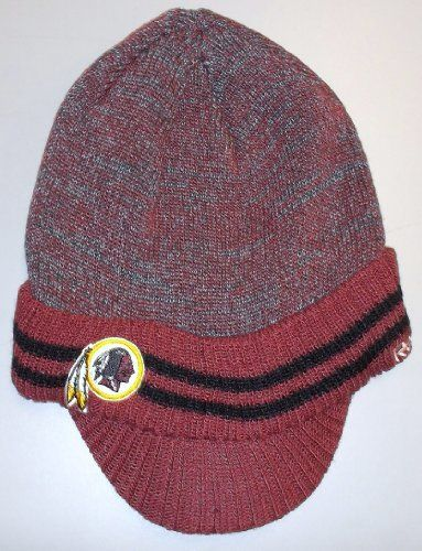 Reebok Washington Redskins Sideline Player 2nd Season Visor Knit Hat One  Size Fits All by Reebok dbbb49dbf