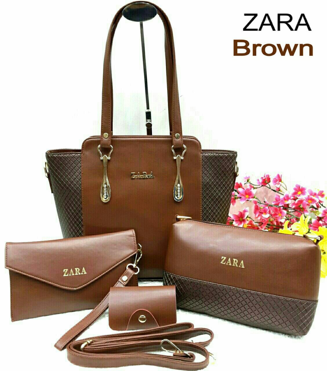 Zara Bags 4 set Combo, 9 colours | Branded Products For Sale Call ...