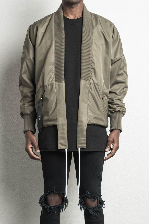 Kimono Bomber Ii Olive Designer Streetwear Kimono Bomber Jacket Mens Bomber Jacket Outfit Bomber Jacket Bomber Jacket Men [ 1498 x 1000 Pixel ]