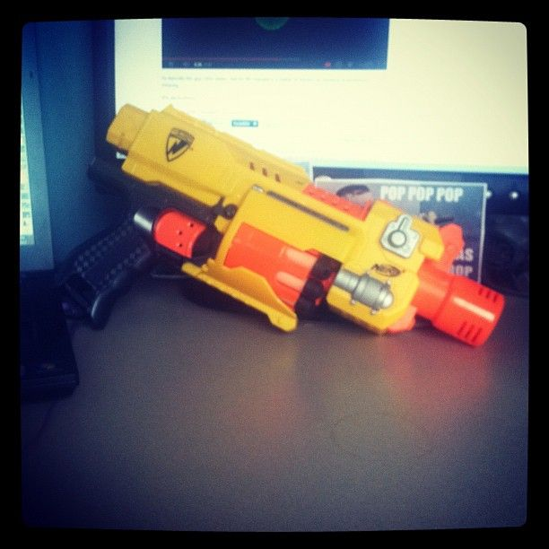 Desk Flair: Social Media Manager, Angie Gannon, is ready to take on any evil force