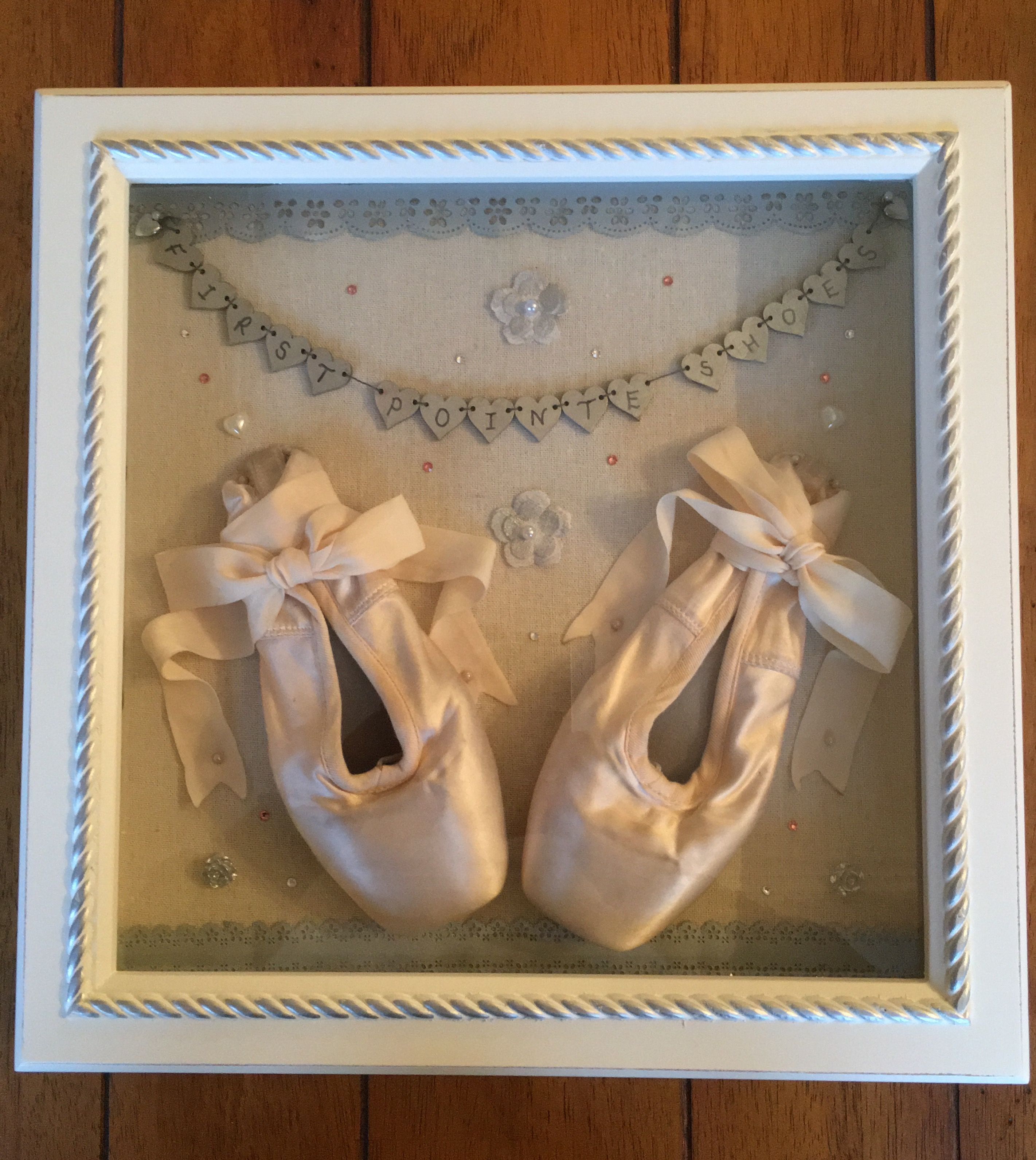 a52c5066bf71 First Point Shoe Keepsake lovely deep box frame great way to treasure your  memories #balletdancer