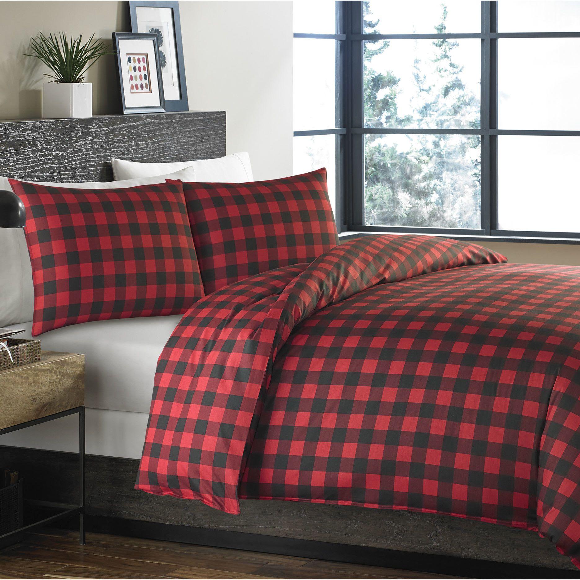 morning sets montana bedding rustic chocolate plaid p comforter set