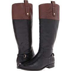 44931ae8cebc0 Obsessed with two-tone riding boots -Tommy Hilfiger Hamden ...